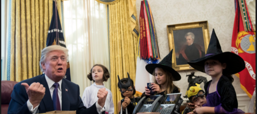 White House Cut Media Briefing Short After Trump Invites Reporters' Kids To Oval Office [VIDEO]