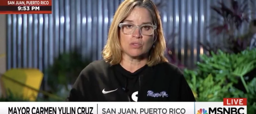 SERIOUSLY!? San Juan Mayor BACK On TV – Wearing ANOTHER Shirt That Speaks Volumes!