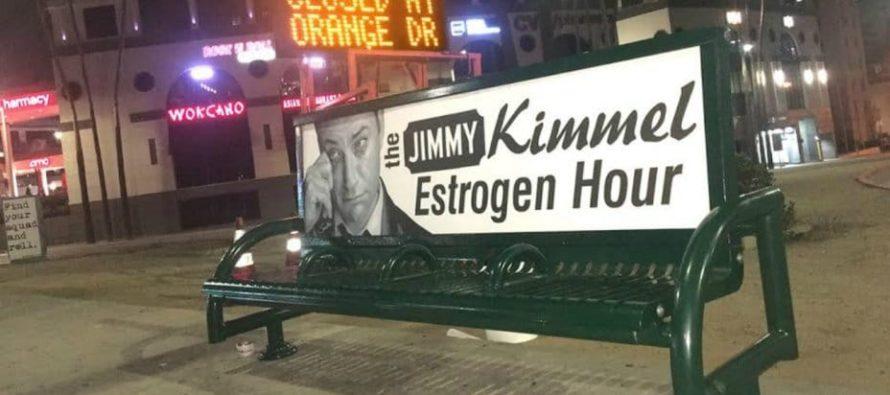 Street Artist Sabo Strikes Again! Jimmy Kimmel Slammed As 'Cry Baby' All Over Hollywood!