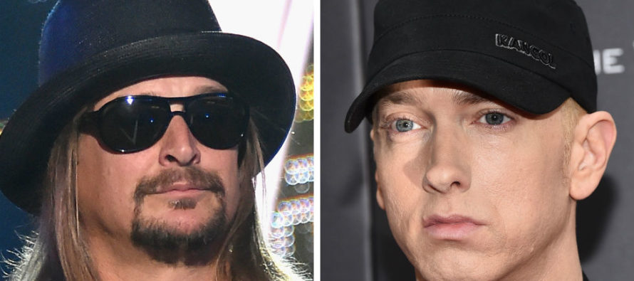 UH OH! Kid Rock And Eminem Attended Same Detroit Pistons Game – Not Good
