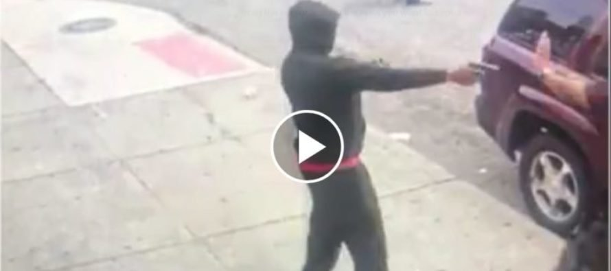 VIDEO: Man With License to Carry Shoots Down Armed Robber in Detroit