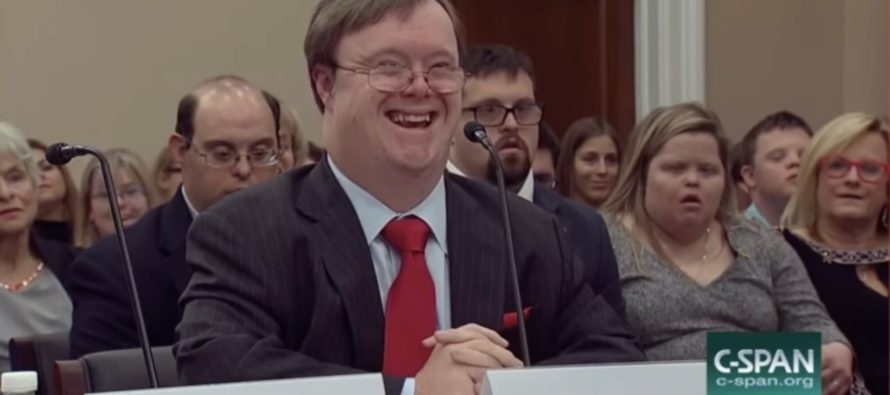 Man With Down Syndrome Says 'My Life Is Worth Living' As Pro-Choicers Propose To 'Kill' Babies With Genetic Diseases [VIDEO]