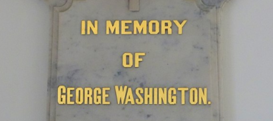 """It Starts: Church To Take Down George Washington Plaque To Be """"More Welcoming"""""""