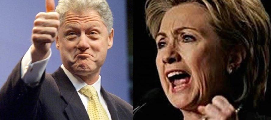 REVEALED: Bill Clinton Helped Secret Service Agent Touch Hillary Clinton's Rear