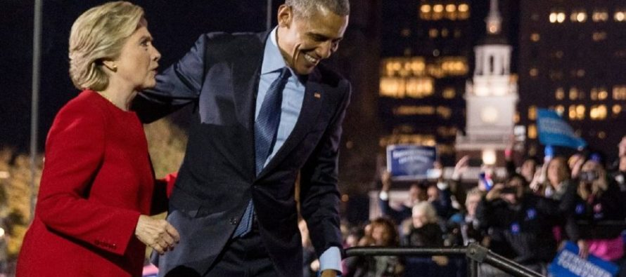 Hillary Throws Obama Under The Bus – BLAMES HIM For 2016 Loss