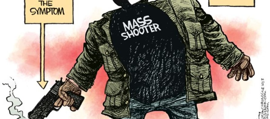 Mass Shooter Disease (Cartoon)