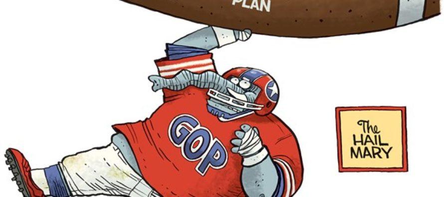 GOP Tax Plan (Cartoon)