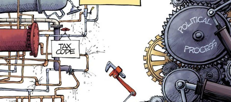 Tax Reform (Cartoon)