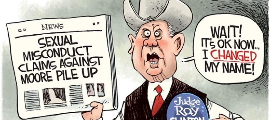 Roy Moore (Cartoon)