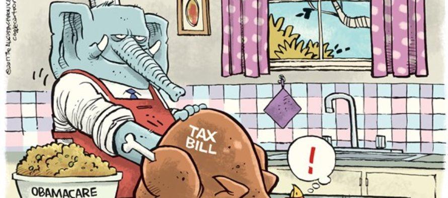 GOP Turkey (Cartoon)