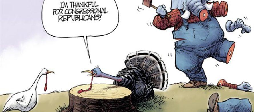 Harassment Thanksgiving (Cartoon)