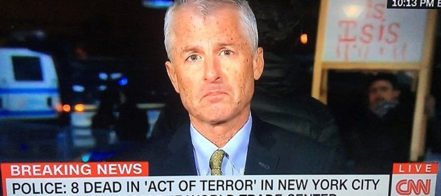 """WATCH: Protesters Interrupt CNN Anchor Anderson Cooper – Chant """"Fake News"""""""