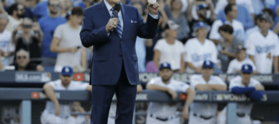 Famed Sportscaster Vin Scully: 'I Will Never Watch Another NFL Game' Due to Anthem Protests [VIDEO]