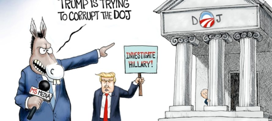 Department Of No-Justice (cartoon)