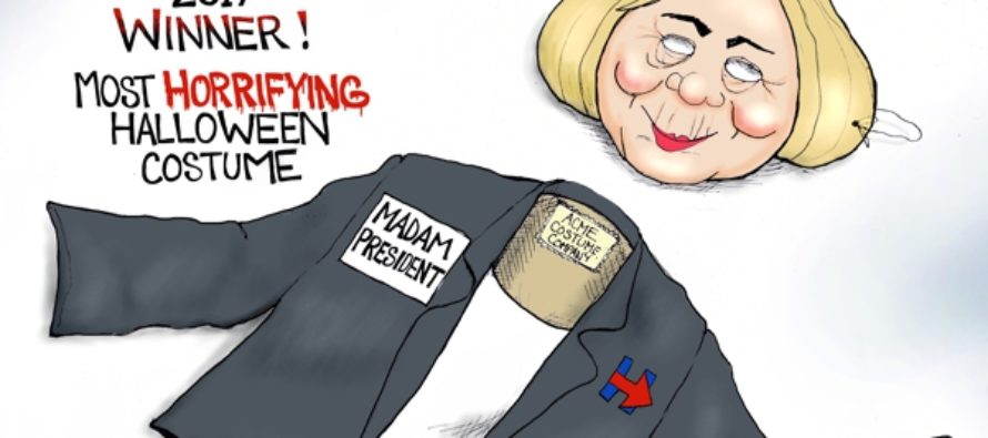 Hillary Wins (Cartoon)