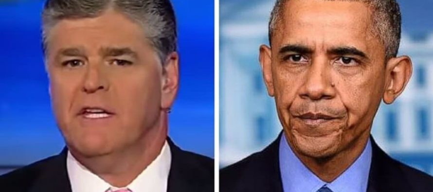 Sean Hannity DROPS THE HAMMER On Obama – Reveals Nasty Secret He's Been Hiding…