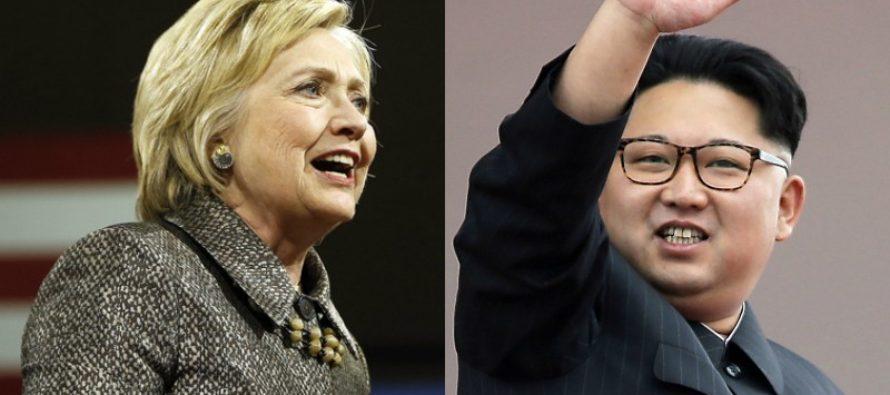 Hillary Clinton Demands That Trump Go EASIER On North Korea