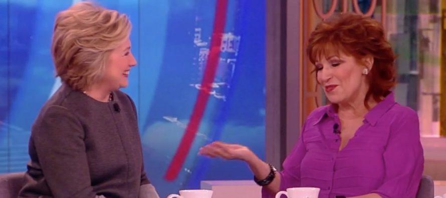 WATCH: Joy Behar Claims Hillary Clinton Won The Election – IMMEDIATELY Gets Shut Down