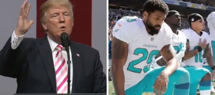 Trump Notices Disrespect From NFL Over Thanksgiving Weekend – Immediately Drops BOMB On League