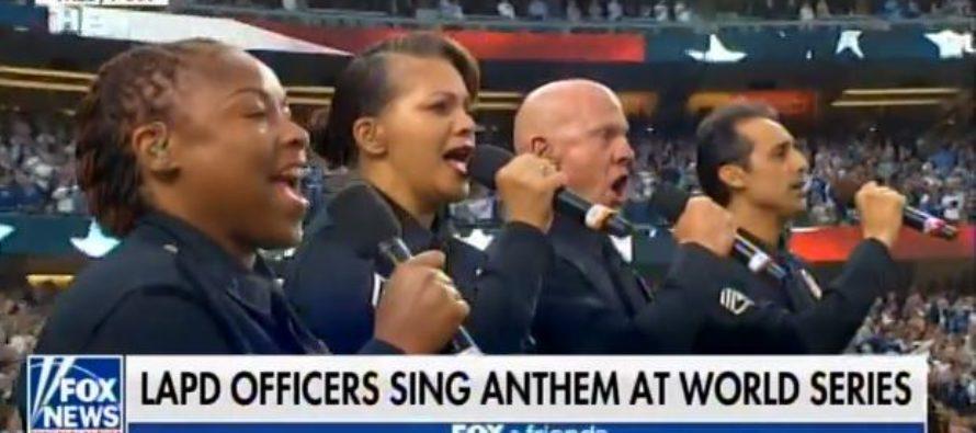 MLB Puts Anthem Kneeling NFL Thugs To SHAME [VIDEO]