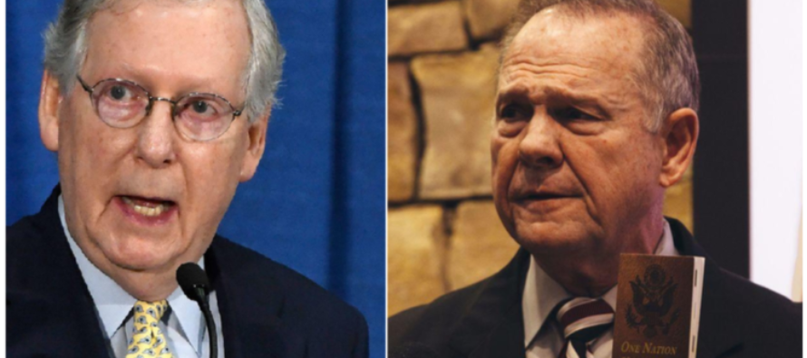 Roy Moore EVISCERATES Mitch McConnell After He Calls For Him To Drop Out Of Race
