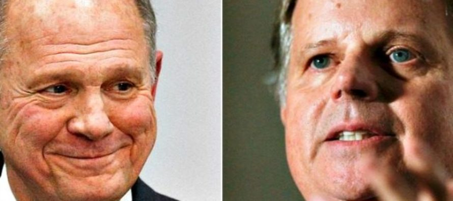Shock Poll: Judge Roy Moore Leads Liberal Democrat Doug Jones by Six Points