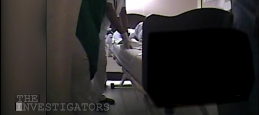 WATCH: Chilling Hidden Camera Footage Shows Nurse LAUGHING As WWII Veteran Dies