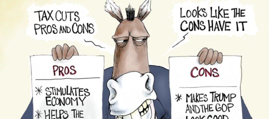 Tax Cut Cons (Cartoons)