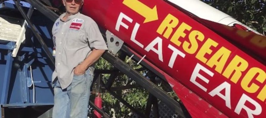 Man Says Earth Is Flat – Will Launch Himself In Homemade Rocket To Prove It [VIDEO]