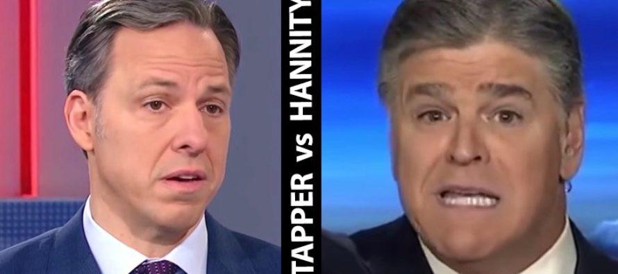 Sean Hannity EVISCERATES Smug CNN Host Jake Tapper [VIDEO]