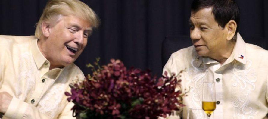 Trump HUMILIATES Obama During Philippines Trip