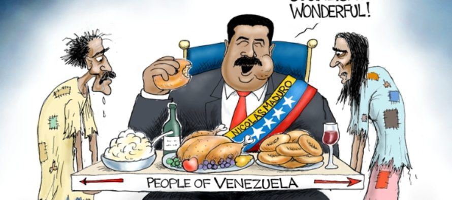Utopia In Venezuela (Cartoon)