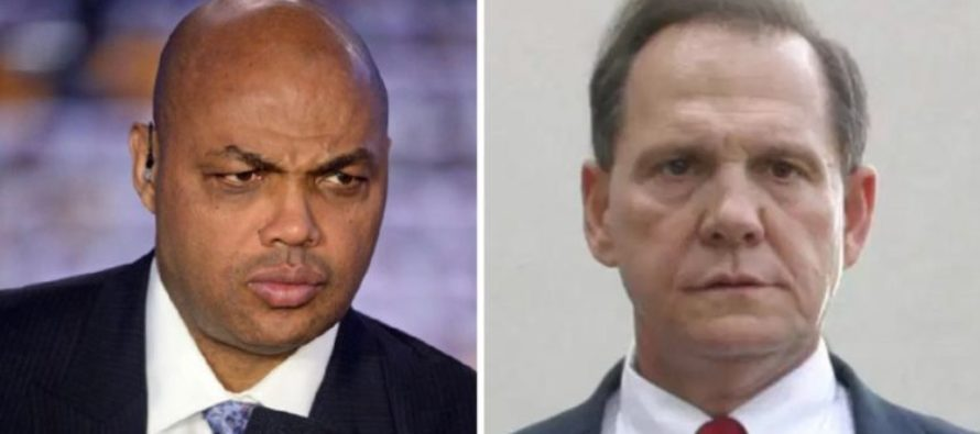 Charles Barkley Blasts Roy Moore, Gives Unexpected Reason Why He Should be Disqualified [VIDEO]