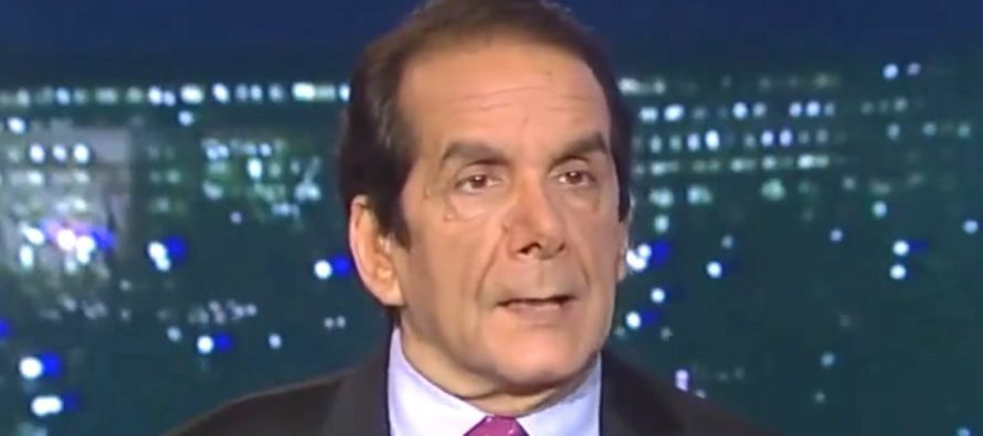BREAKING: Sad Announcement About Charles Krauthammer