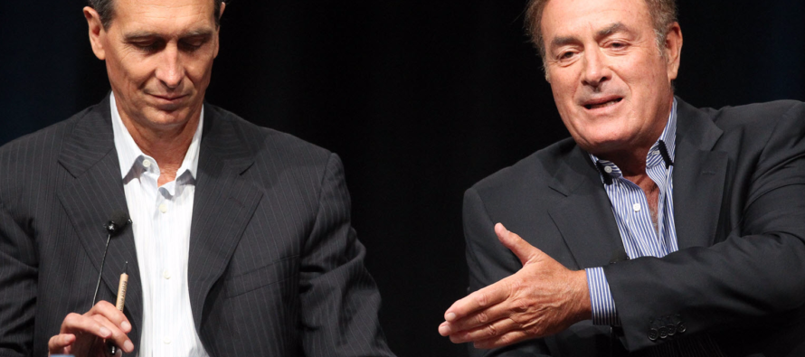 He admits it! Sunday Night Football's Al Michaels — Trump's Anthem Comments Hurt Ratings