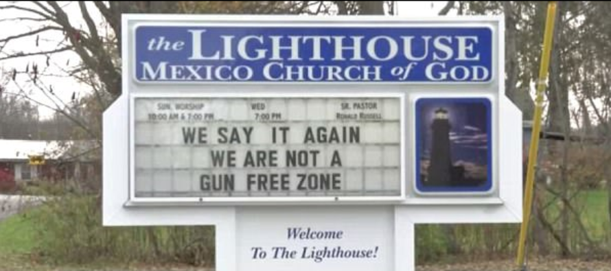 New York Church Invites Members To Bring Guns To Service