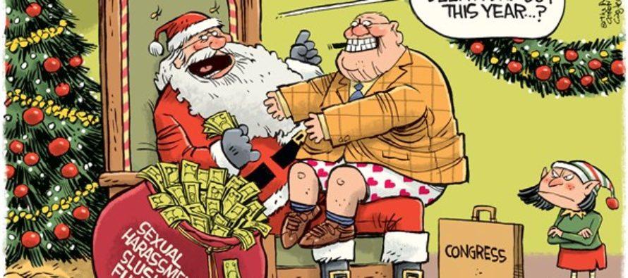 Congress Slush Fund (Cartoon)