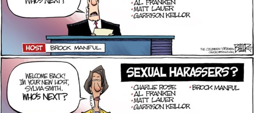 Sexual Harassers (Cartoon)
