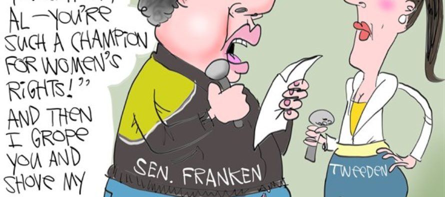 Al Franken Pervert (Cartoon)