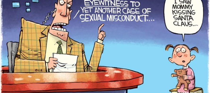 Santa Harassment (Cartoon)