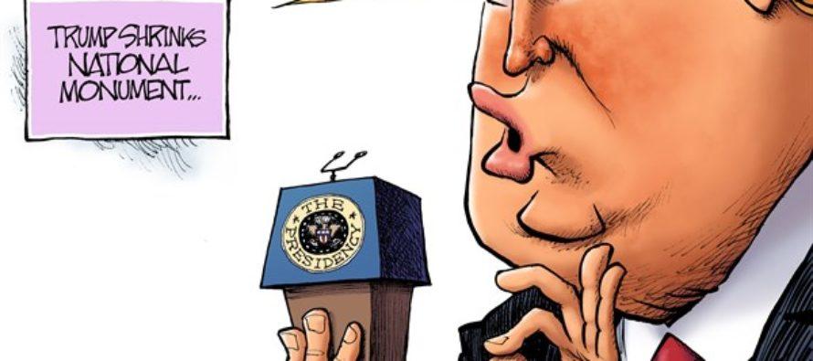 Shrinking Monument (Cartoon)