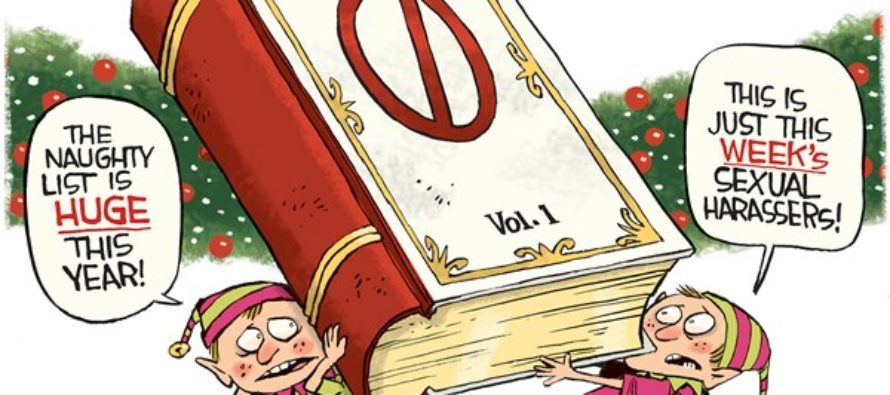 Harassers List (Cartoon)