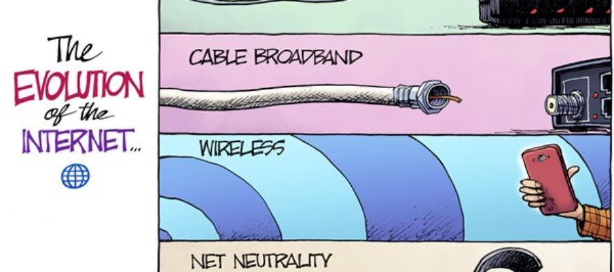 Internet Evolution (Cartoon)
