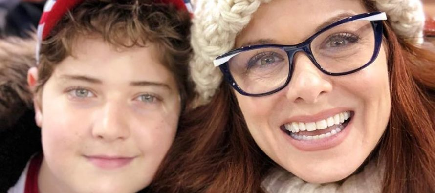 Debra Messing APPLAUDS Her Son For Disrespecting Nat'l Anthem [PICTURE]