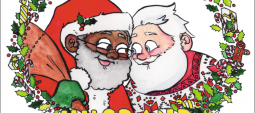 THIS IS CNN: Hypes Children's Book Portraying Santa Claus As a Gay Man