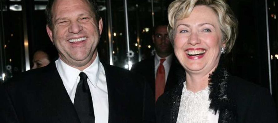 Bill and Hillary's Nasty Harvey Weinstein Secret Leaks