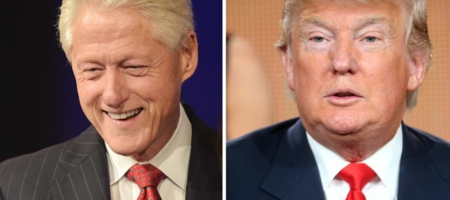 Bill Clinton Launches Vile Attack On Trump As Sexual Misconduct Claims Come Back To Haunt Him