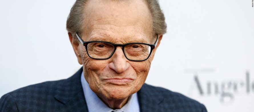 JUST IN: Larry King Accused Of Sexual Misconduct