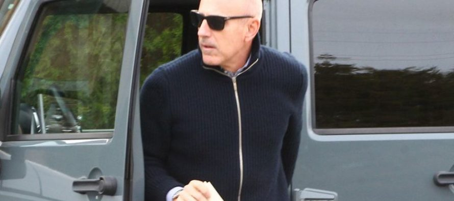 PHOTOS: Matt Lauer Reemerges Days After Firing – Everyone Immediately Notices One Thing…