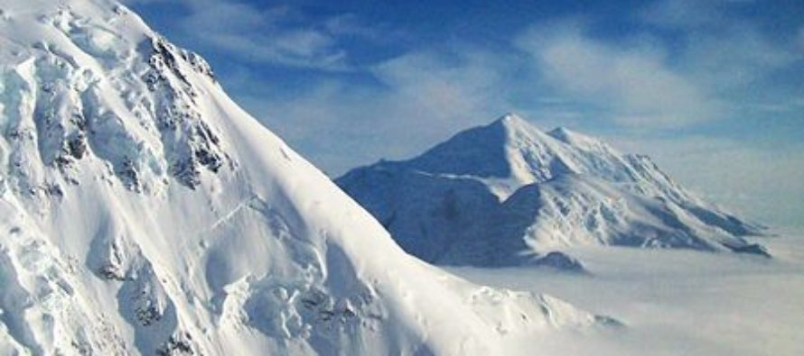 Anthropogenic Global Warming Blamed for Snow in Alaska Mountains
